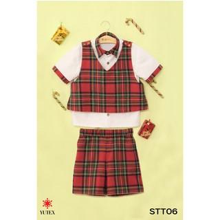Set thời trang Yutex caro bé trai-STT06