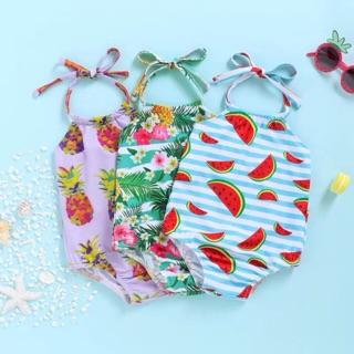 Áo bơi 1 mảnh liền thân cho bé gái TT004 hai dây siêu đáng yêu size cho bé 1, 2, 3 tuổi