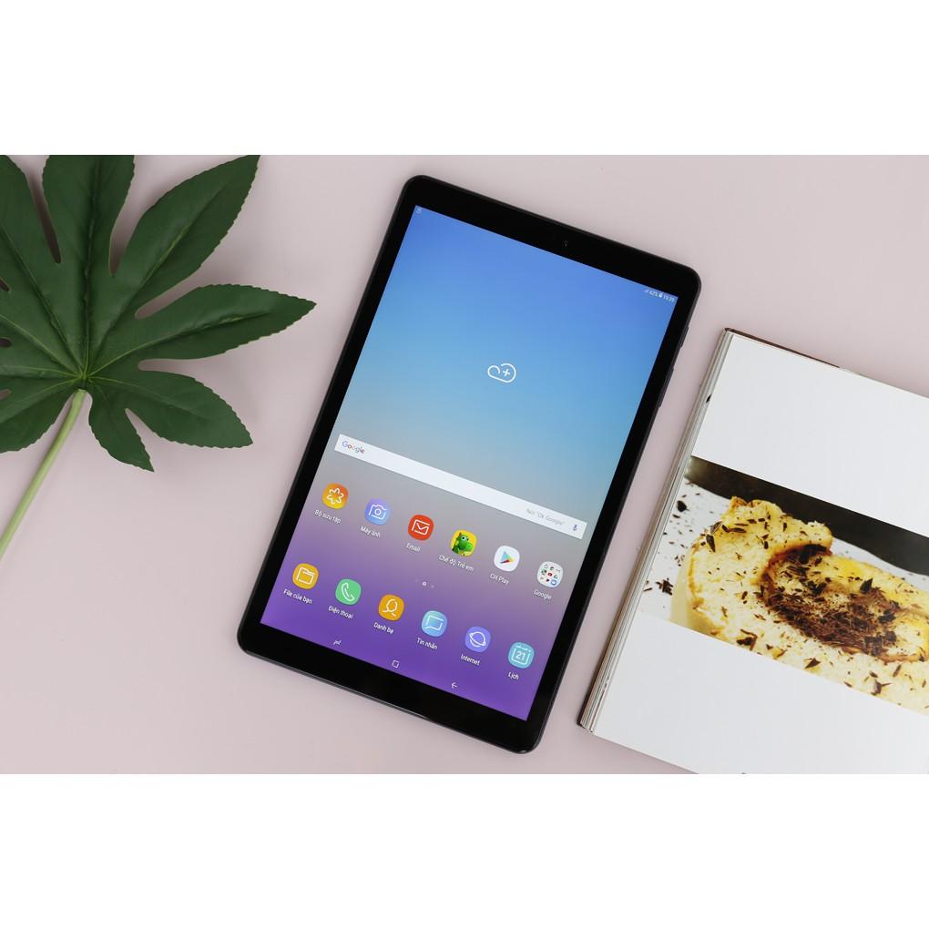 Máy tính bảng Samsung Galaxy Tab A 10.5 đời 2018 wifi [add sẵn 2 phần mềm học online tienganh123, luyenthi123 bản quyền