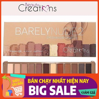 Bảng Màu Mắt BEAUTY CREATIONS Barely Nude2 Eyeshadow Palette thumbnail