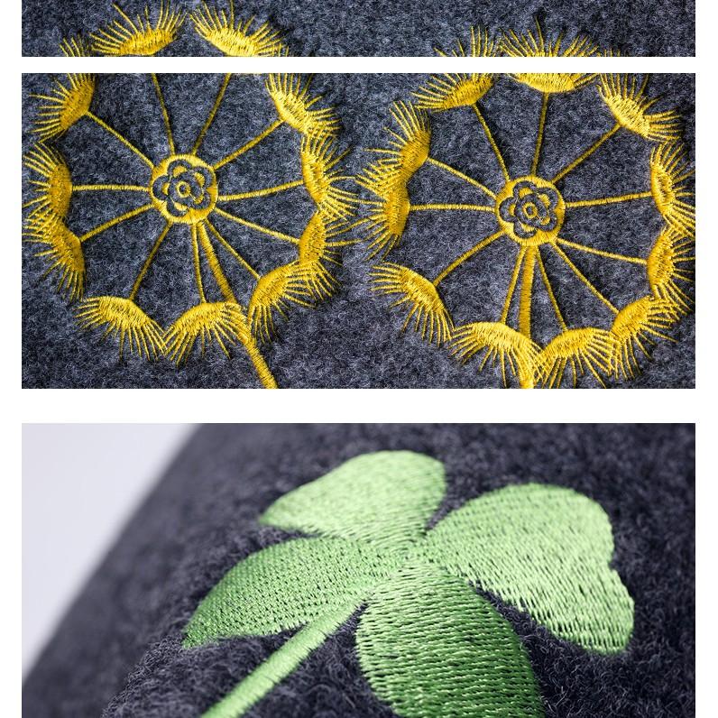 Bộ 2 tấm thảm bếp sợi cước mịn CÂY PHÁT TÀI