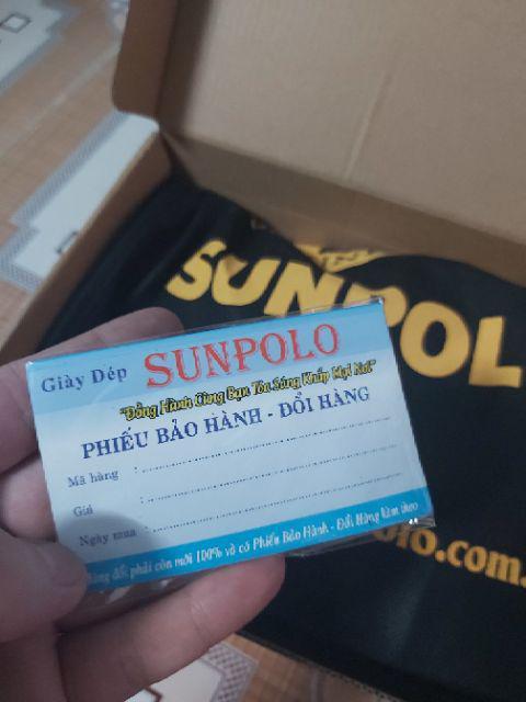 Đánh giá sản phẩm Giày Mọi Nam Da Bò SUNPOLO Đen Nâu - SU2098DN của thinhphat2204