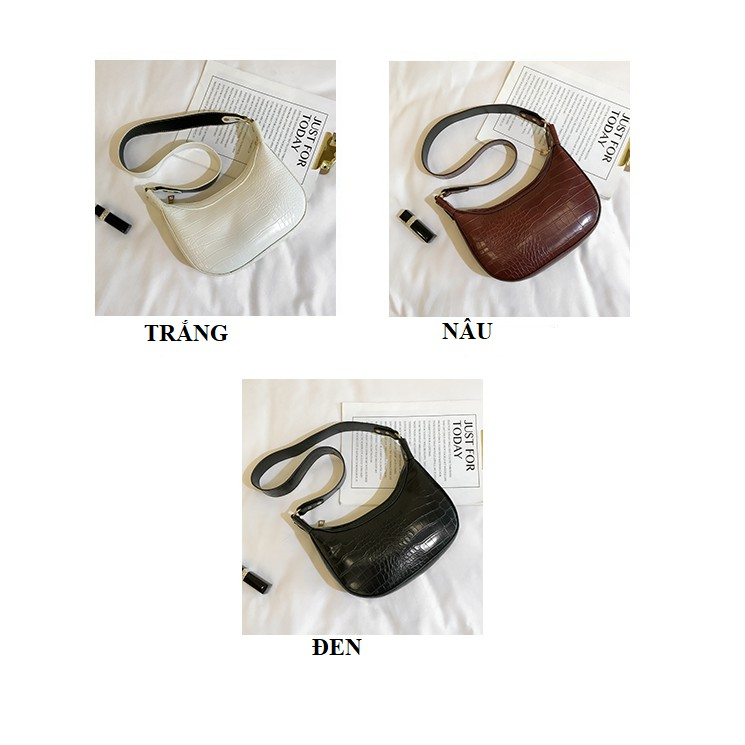 Túi xách nữ LOKADO túi nữ đeo chéo da mềm-HY014