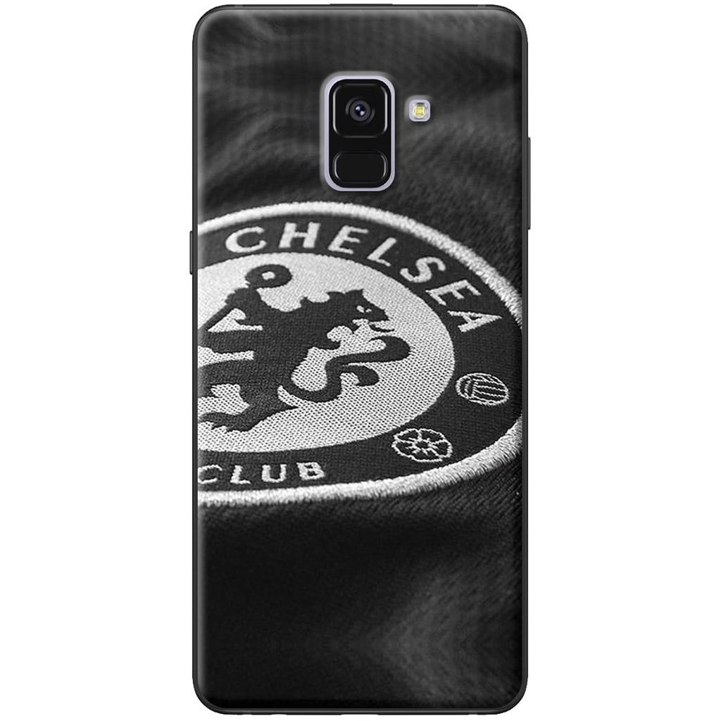 Ốp lưng Samsung A8 2015, A8 2018, A8 Plus Chelsea đen
