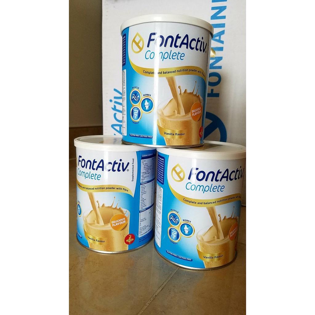 Sữa FontActiv Complete Vanilla.