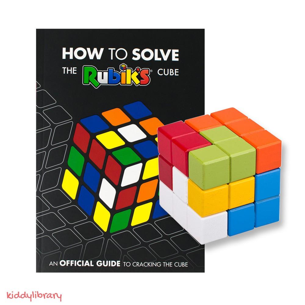 """Đồ Chơi Rubik và Sách Hướng Dẫn Tiếng Anh """"How To Solve The Rubik's Cube"""""""