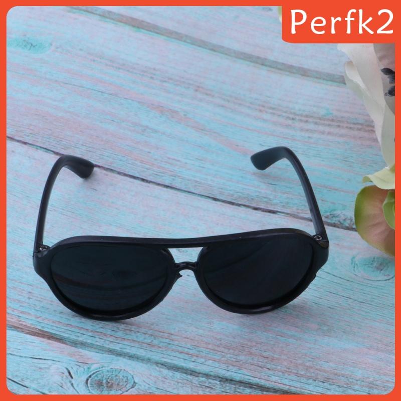 [PERFK2] Lovely Doll Sunglasses Doll Cool Glasses Pet Eyewear Grils Toys Black