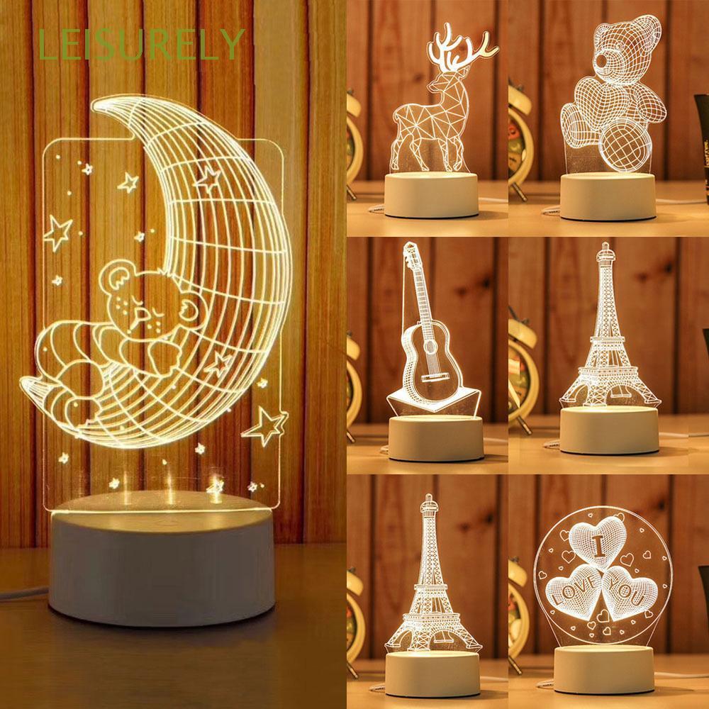 Đèn LED trang trí 3D tiết kiệm năng lượng