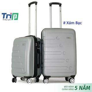 Bộ 2 vali nhựa TRIP P16 Size 20inch + 24inch bảo hành 5 năm, 1 đổi 1 năm đầu tiên thumbnail