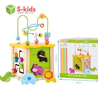 Đồ chơi trẻ em thông minh – hộp thả hình đa năng luồn hạt