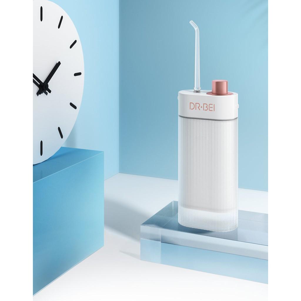 Máy tăm nước Xiaomi Dr Bei Water flosser F3 - Tiện lợi du lịch gấp gọn gàng - Minh Tín Shop - Chăm sóc răng miệng   ALamDep.com