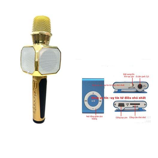 Mic hát karaoke SD-10 kèm loa Bluetooth tặng máy nghe nhạc mp3 - 3053651 , 1277781594 , 322_1277781594 , 319000 , Mic-hat-karaoke-SD-10-kem-loa-Bluetooth-tang-may-nghe-nhac-mp3-322_1277781594 , shopee.vn , Mic hát karaoke SD-10 kèm loa Bluetooth tặng máy nghe nhạc mp3