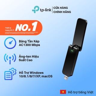 Bộ Chuyển Đổi USB Wifi TP-Link Archer T4U Chuẩn AC 1300Mbps – Hàng Chính Hãng