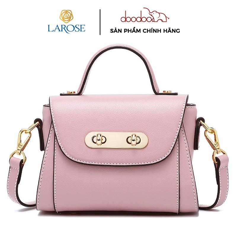 Túi xách da cao cấp thương hiệu DOODOO thanh lịch D8053