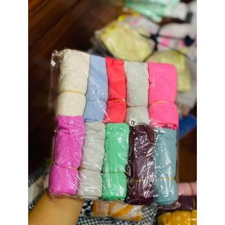 Set 5 quần đùi mặc nhà màu ngẫu nhiên cho bé trai bé gái chất cotton,size 4 - 16kg, 3 - 36 tháng thumbnail