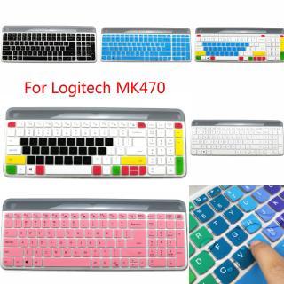 Miếng Dán Bàn Phím Silicon Siêu Mỏng Cho Logitech Mk470 K580 thumbnail