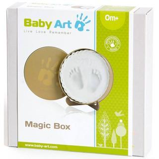 Hộp tròn ghi dấu tay chân bé Magic Box Baby Art