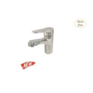 Vòi rửa lavabo nóng lạnh inox 304 Luxta L1219S