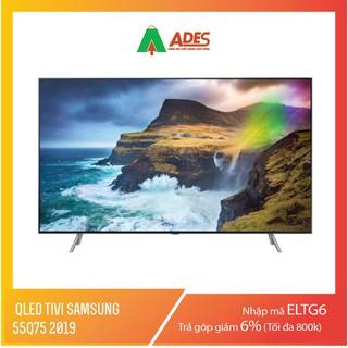 QLED Tivi Samsung 55Q75 2019, 55 inch, 4K HDR, Smart TV