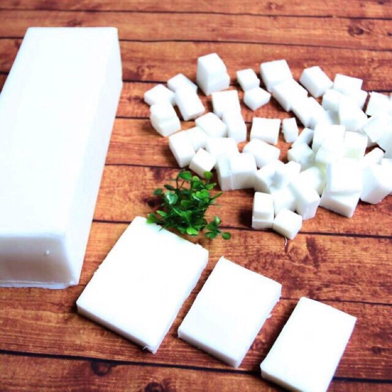 [1 kg] Phôi xà phòng thiên nhiên Organic/Sữa dê/Mật ong/Argan (xuất xứ từ Anh Quốc)