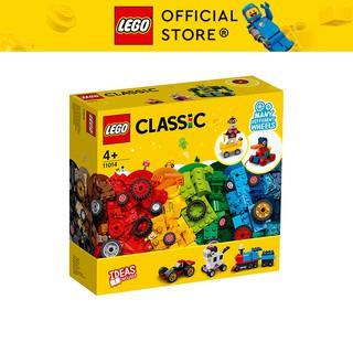 LEGO CLASSIC 11014 Bộ Gạch Sáng Tạo Và Bánh Xe ( 653 Chi tiết) Đồ chơi lắp ráp sáng tạo