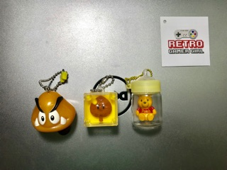 Doraemon, gấu Pooh và Mario – mô hình đồ chơi