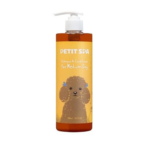 Dầu gội (sữa tắm) và xả cho chó PetitSpa - Xuất xứ: Hàn Quốc