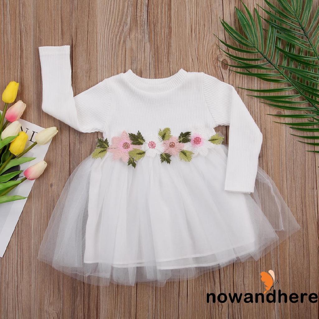 ☞✿☜Kids Baby Girls Princess Fashion Cute Flower Party Wedding Birthday Pageant Dresses
