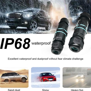 3 Pole Core Joint Outdoor IP68 Waterproof Electrical Electrical Power M20X1.5 Conector CE Type M6C9