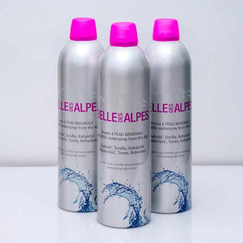 Xịt khoáng dưỡng da Pháp Belle des Alpes - 400ml