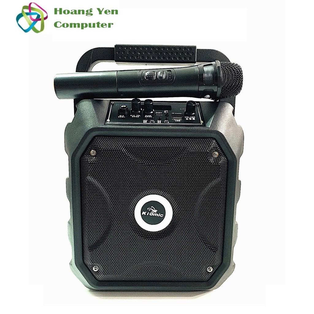 [Freeship toàn quốc từ 50k] [Tặng Mic Ko Dây] Loa Bluetooth Karaoke Kiomic K68 - Bh 12 Tháng (Màu NGẪU NHIÊN)