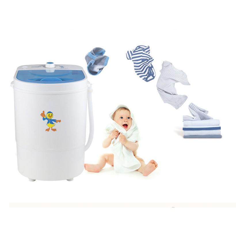 Máy giặt mini 1 lồng 4.5 kg , máy giặt bán tự động ( trắng ) - The Ro