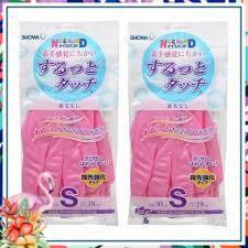 [Rẻ_Mà _Chất] Sản phẩm Găng tay rửa bát biết thở SHOWA size S