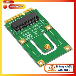 Card chuyển đổi M2 NGFF Key E Wifi Bluetooth sang Mini PCI-E cho máy tính PC – Laptop
