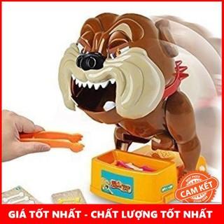 [ẢNH THẬT] Trò chơi chó gặm xương (loại ấn xương)