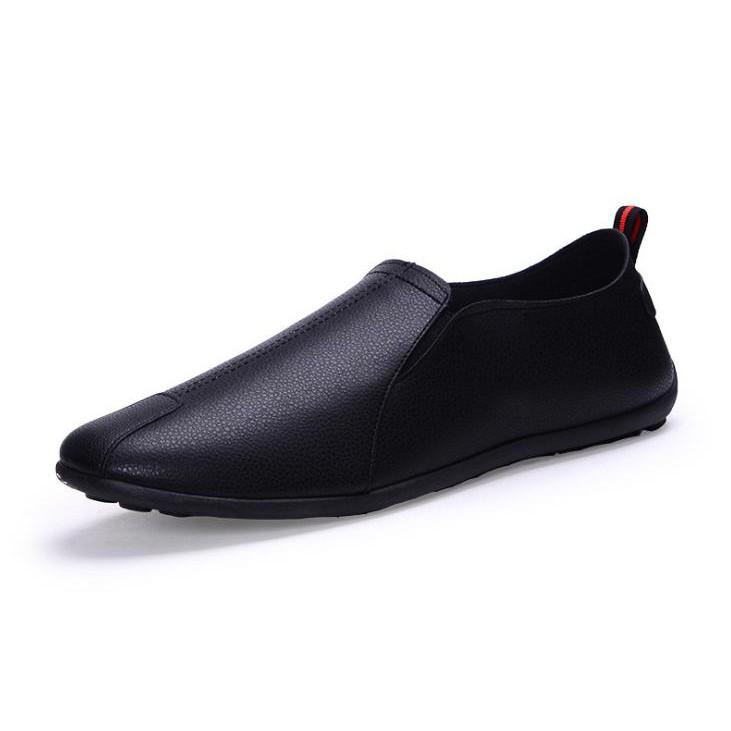 [FREESHIP 99K]Giày Lười Da Pu Nam nhập khẩu ZAVANS ( Đen )
