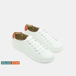 [Combo]Giày Sneaker Nữ Trắng Zelda Star + Giày chống ướt, giày đi mưa - BA0331220 thumbnail