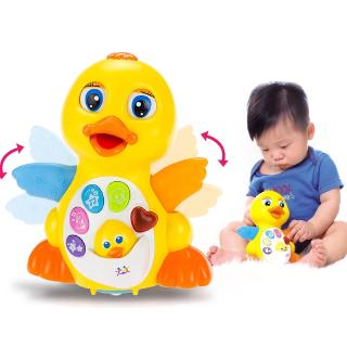 New Toys Dancing Musical Duck Toy for 1 Year Old Boys & Girls Gifts with Lights