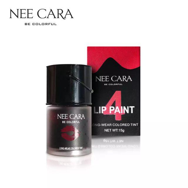 NEECARA LIP PAINT TINT(N039) ลิปติ้นจุ่ม เบอร์ 4 ขนาด 15 กรัม