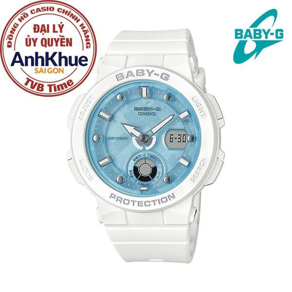 Đồng hồ nữ dây nhựa Casio Baby-G chính hãng Anh Khuê BGA-250-7A1DR