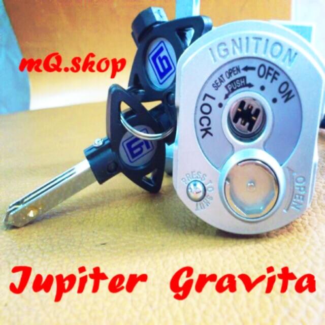 Bộ ổ khoá xe Jupiter Gravita 6 cạnh, Bộ khoá điện xe Jupiter Gravita 6 cạnh - 10040412 , 506388146 , 322_506388146 , 249000 , Bo-o-khoa-xe-Jupiter-Gravita-6-canh-Bo-khoa-dien-xe-Jupiter-Gravita-6-canh-322_506388146 , shopee.vn , Bộ ổ khoá xe Jupiter Gravita 6 cạnh, Bộ khoá điện xe Jupiter Gravita 6 cạnh