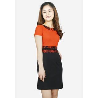 The One Fashion đầm công sở DDP2203CDE thumbnail