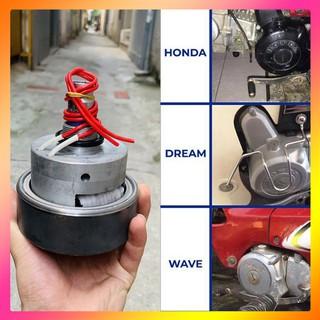 [xài thử 7 ngày] máy phát điện mini ecoking gắn xe máy ra điện 220v-650w