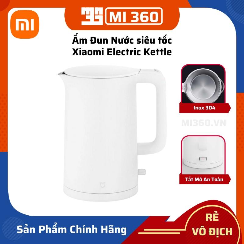 Ấm Đun Nước siêu tốc Xiaomi Electric Kettle✅ Dung Tích 1.5L Inox 304✅ Hàng Chính Hãng Siêu Bền