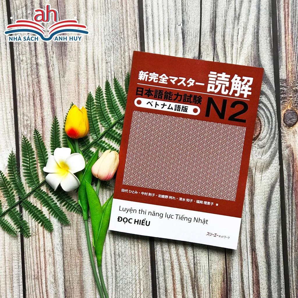 Sách tiếng Nhật - STN066SN - Shin kanzen masuta N2 Đọc hiểu (Song ngữ Nhật-Việt)