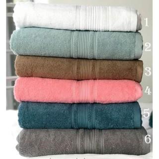Khăn tắm gội mặt cao cấp với sợi bông cotton siêu dày thấm hút tốt