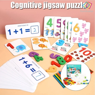 [FCD] Letter Recognition Spelling Game See and Spell Learning Toy Word Matching Spelling Wooden Letter Puzzle