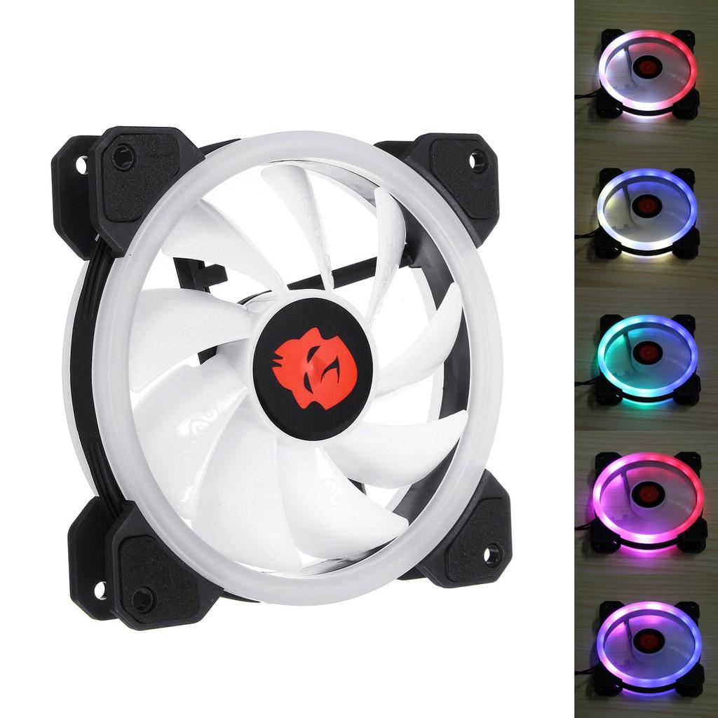 Quạt làm mát Coolman Dual Ring Fan Led RGB 12cm bổ sung cho Case lắp thiếu quạt - 10047311 , 1332730184 , 322_1332730184 , 110000 , Quat-lam-mat-Coolman-Dual-Ring-Fan-Led-RGB-12cm-bo-sung-cho-Case-lap-thieu-quat-322_1332730184 , shopee.vn , Quạt làm mát Coolman Dual Ring Fan Led RGB 12cm bổ sung cho Case lắp thiếu quạt