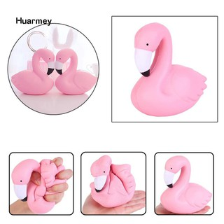 ★Hu Lovely Squishy Flamingo Slow Rising Squeeze Relieve Stress Kids Adult Vent Toy squishy