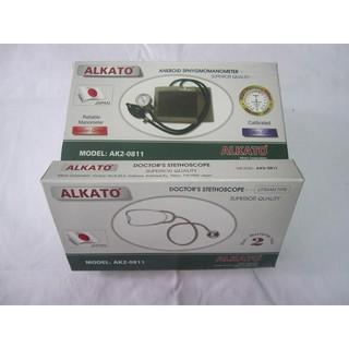 Bộ huyết áp cơ Alkato kem ống nghe thumbnail
